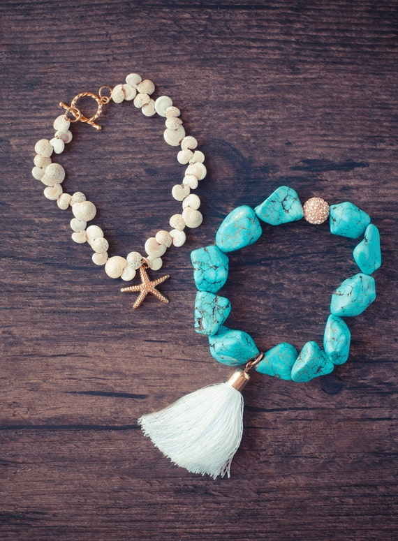 Mermaid luxe bracelet set