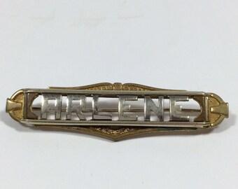 Arlene Name Brooch