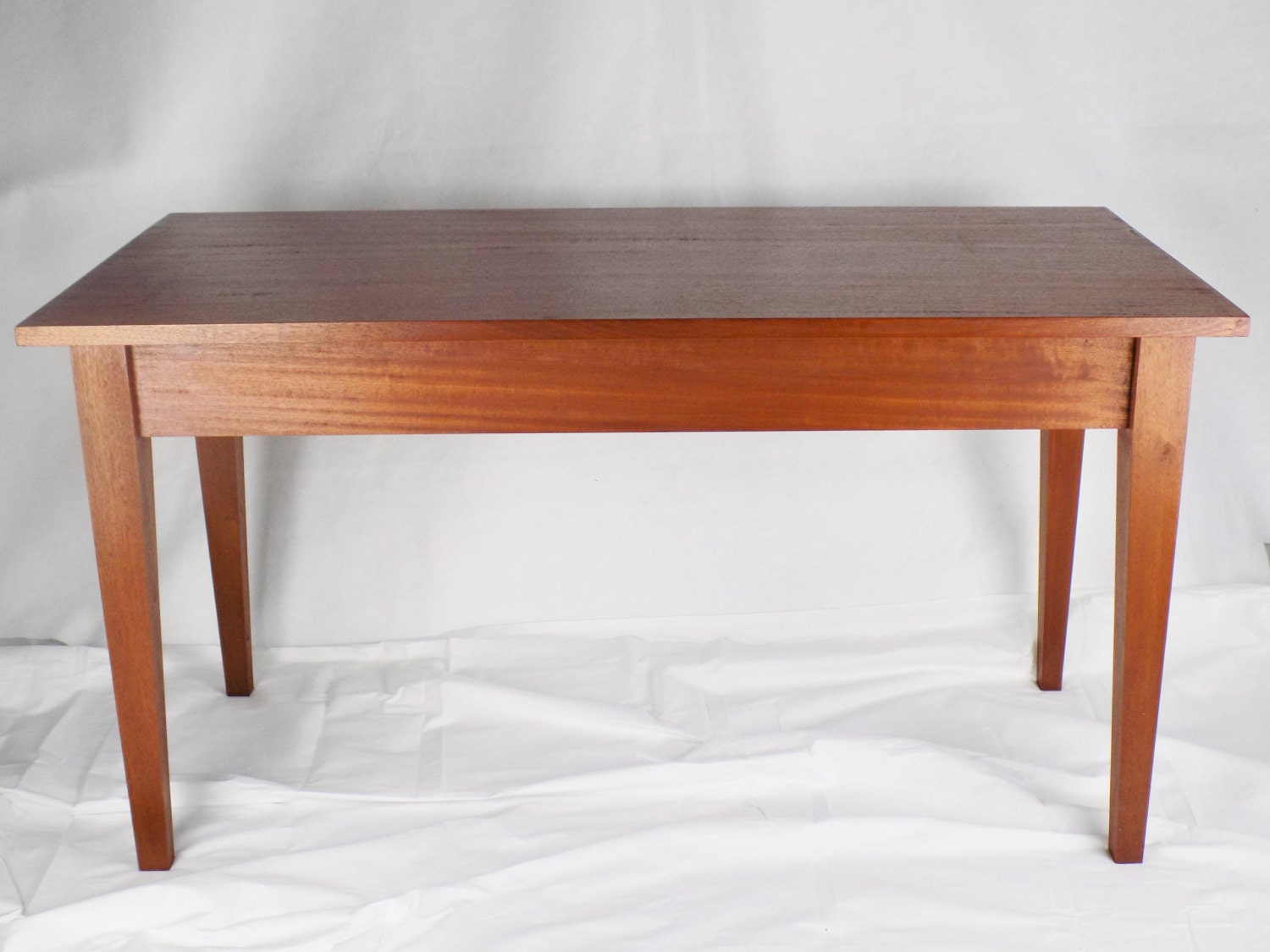 Solid Mahogany Coffee Table End Table Shaker Style Coffee