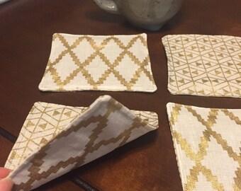 Fabric Coasters!