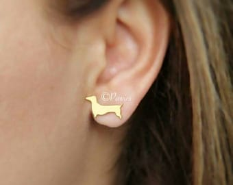DACHSHUND EARRINGS, Cute Earrings perfect for dog lovers.