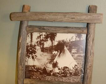 SALE - Mescalero Apache Indian Camp - New Mexico
