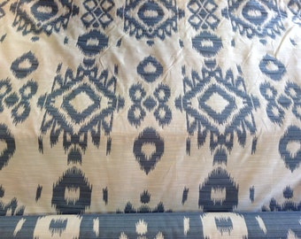 Ikat, woven exclusive fabric
