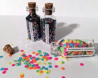 Party Gift, Favor, Emergency Confetti or Glitter