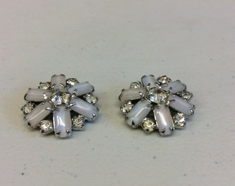 Rhinestone CZ Set Of Pins With CZ's And White Stones