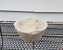 Hypertufa Planter, 5.5 Inch Round