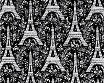 Eiffel Towers Paris Fabric - Michael Miller - by the Half Yard