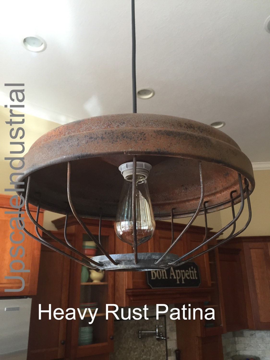 ceiling light chicken feeder pendant light industrial pendant upscale industrial