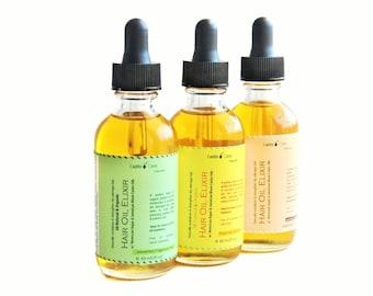 Organic All Natural Hair Oil, Hair Growth Serum, Dry Damaged Color Treated Hair Treatment Oil, Moroccan Argan Hair Oil, Hot Oil | Leave in