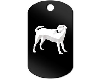Labrador Engraved GI Tag Key Chain Dog Tag lab - MDT-76