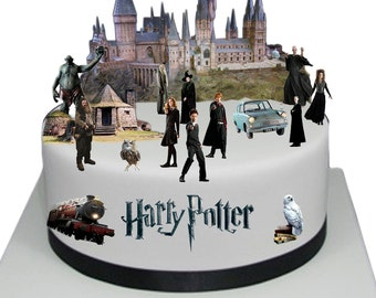 Harry Potter Cake Decorating Kit Topper : harry potter cake topper   Etsy