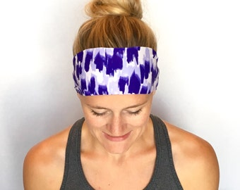 Fitness Headband - Workout Headband - Running Headband - Yoga Headband - Purple Rain