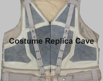 Bane Vest ( Costume / Cosplay /  Replica) in Leather from the movie The Dark Knight Rises (Batman)