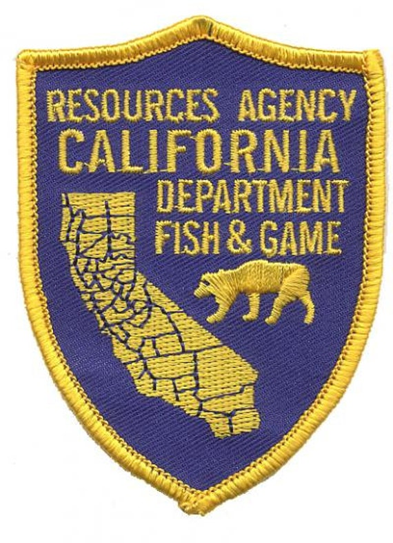 California department of fish and game patch by patchparlor for Department of fish and game