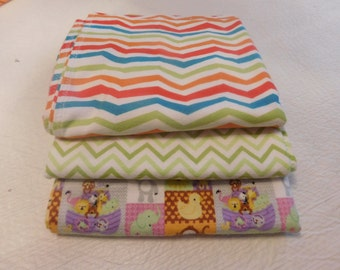 BABY RECEIVING Blankets Flannel various colors - Large