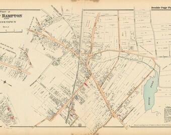 East Hampton - Freetown Map 1916
