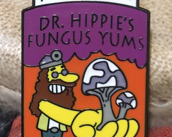 Dr Hippies Fungus Yums Hat Pin