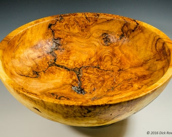 Large Burl Bowl