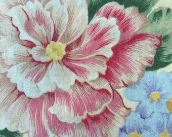 FF142 Cranston (5 HALF yards available) Floral Cotton Fabric