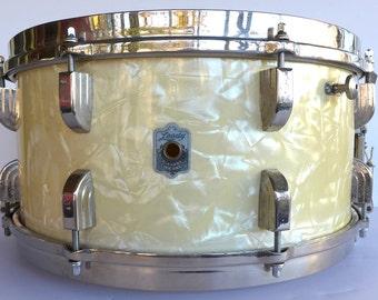"Vintage Leedy 6.5 x 14"" Broadway Snare Drum"