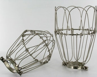 Vintage Wire Lamp Guards