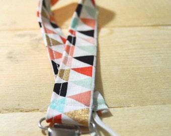 Binky | Pacifier | Clip | Triangles
