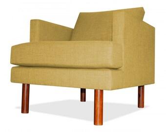 Clark Arm Chair in Mustard
