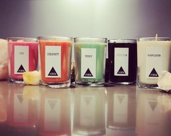 Intention Candles (Set of 5)