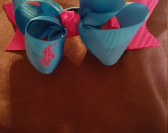 Hair Bows, Boutique Hairbow, Polo