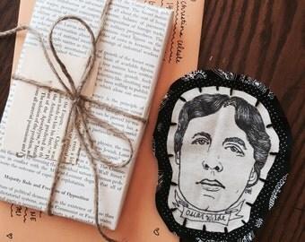 Handmade Oscar Wilde Patch