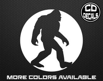 Sasquatch Bigfoot Decal