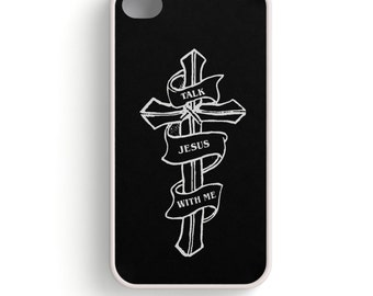 Talk Jesus With Me Beautiful IPhone 4/4S Case