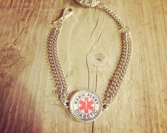 Medic Alert Diffuser Bracelet- Diabetic