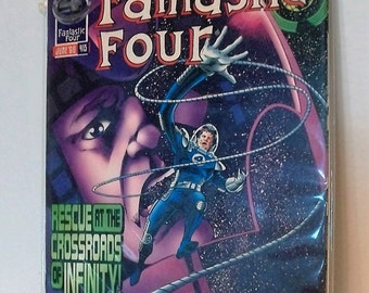 1996 Fantastic Four #413 Doom 2099 Vs Fantastic Four  VF-NM Unread Vintage Marvel Comic Book