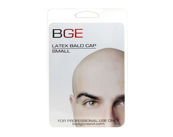 BGE Latex Small (Childs) Bald Cap