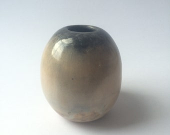 Medium Pit Fired Orb Vase