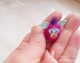 Furby 1:12. Ферби в миниатюре