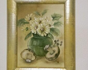 Dipinti di fiori etsy for Fiori di ciliegio dipinti