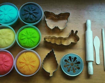 Butterfly Lifecycle Play Dough Set