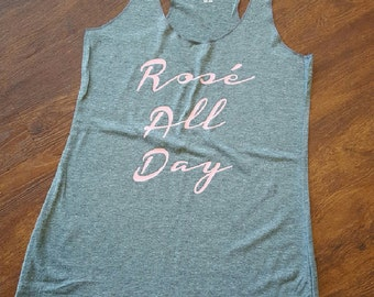Rose All Day Tank - Customize your Color