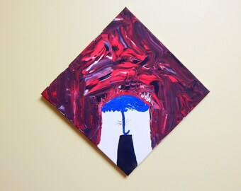 "Original Acrylic Painting ""Stressor"" (12x12)"