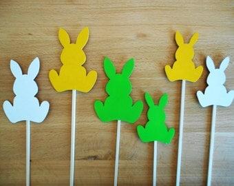 Easter Bunnies - set of three