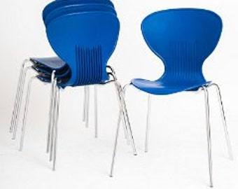 Blue Frovi chairs