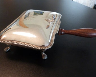 Silver plated Silent Butler made in Italy.