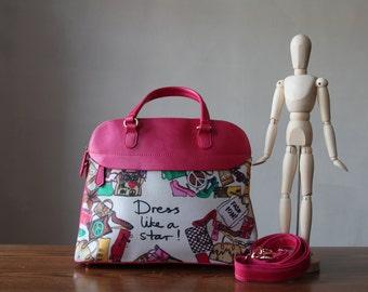 Super Star Pink Handbag;Shoulder Bag