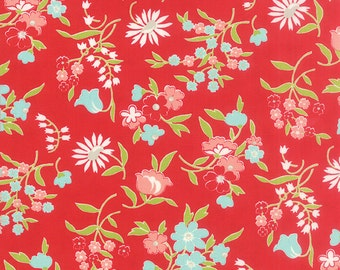 Vintage Picnic Red 55125 11 Moda  by Bonnie & Camille