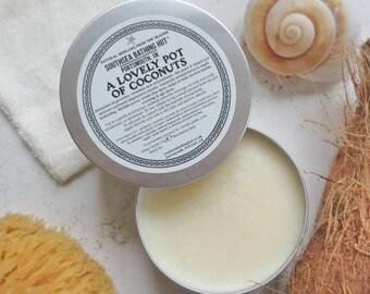 Raw Coconut Body Oil - 100% natural, Coconut oil, Body oil
