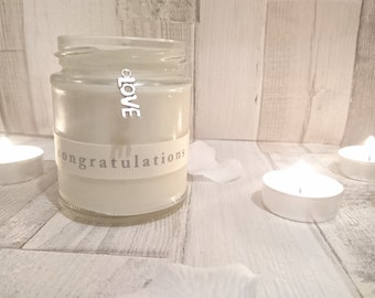 Engagement Wedding Scented Candle
