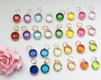 Add-on Birthstone charm, to add onto existing orders only!