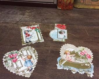 Vintage Valentines Cards 1950's